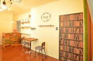 鍼灸院 鍼灸サロン カフェ 待合室